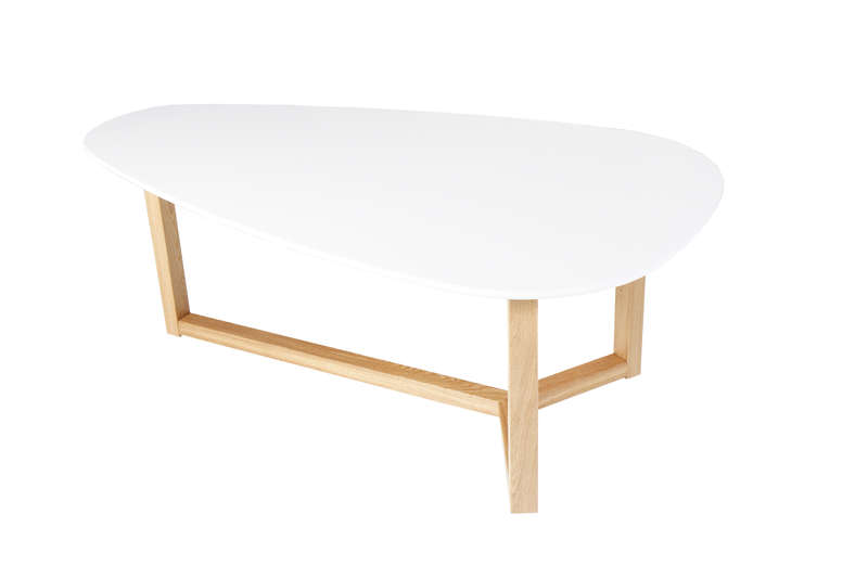Table basse bois ovale - Table basse ovale bois ...