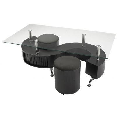 Table basse ying for Meuble ying yang