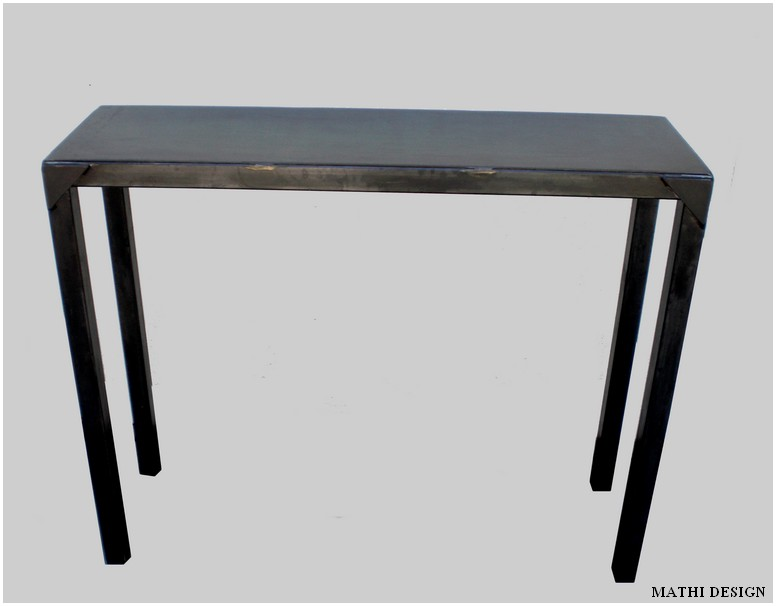 table console usine deco. Black Bedroom Furniture Sets. Home Design Ideas