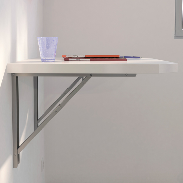 Table cuisine escamotable ou rabattable maison design for Table cuisine encastrable