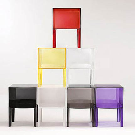 table de chevet kartell occasion. Black Bedroom Furniture Sets. Home Design Ideas