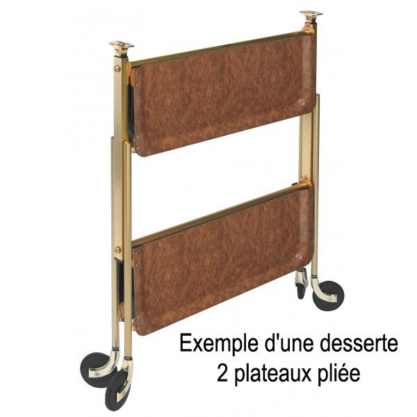Table desserte pliante table de lit - Desserte de table roulante ...