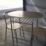 table et chaise de cuisine d'occasion