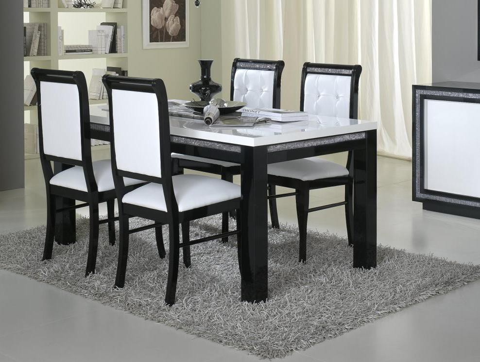 table et chaise de salle a manger pas cher. Black Bedroom Furniture Sets. Home Design Ideas