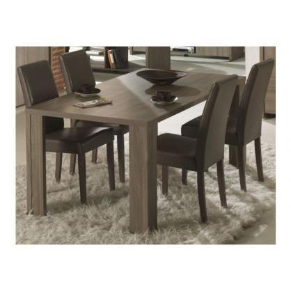 table manger taupe. Black Bedroom Furniture Sets. Home Design Ideas