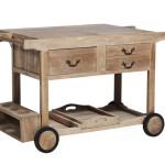 meubles design salle desserte de table roulante. Black Bedroom Furniture Sets. Home Design Ideas