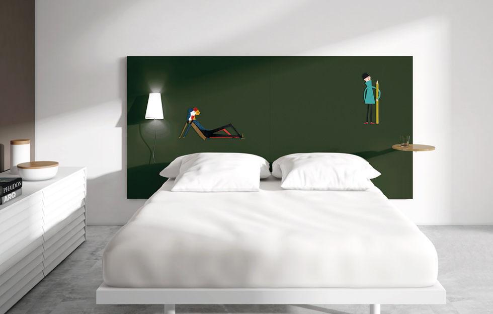 tete de lit en anglais. Black Bedroom Furniture Sets. Home Design Ideas