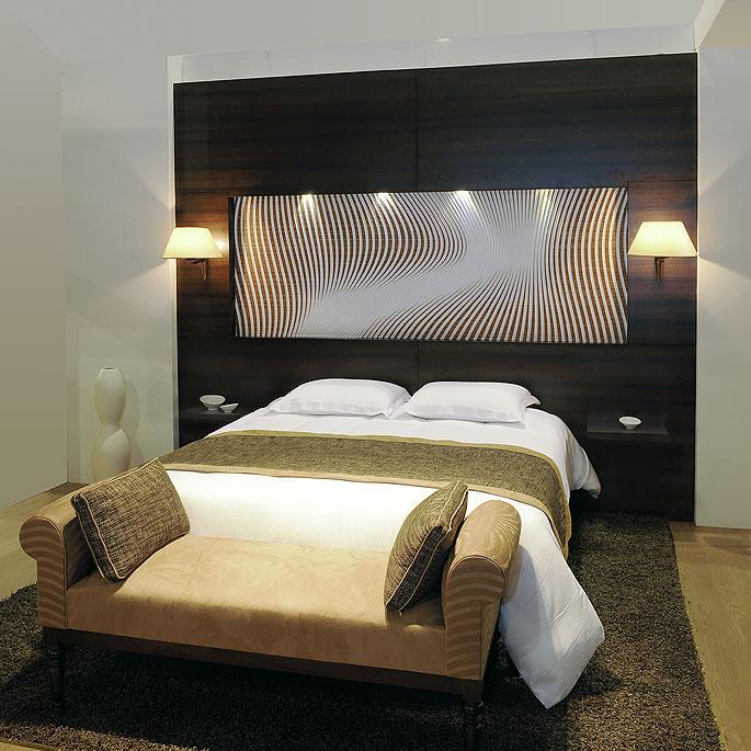 Tete de lit hotel - Tete de lit contemporaine design ...