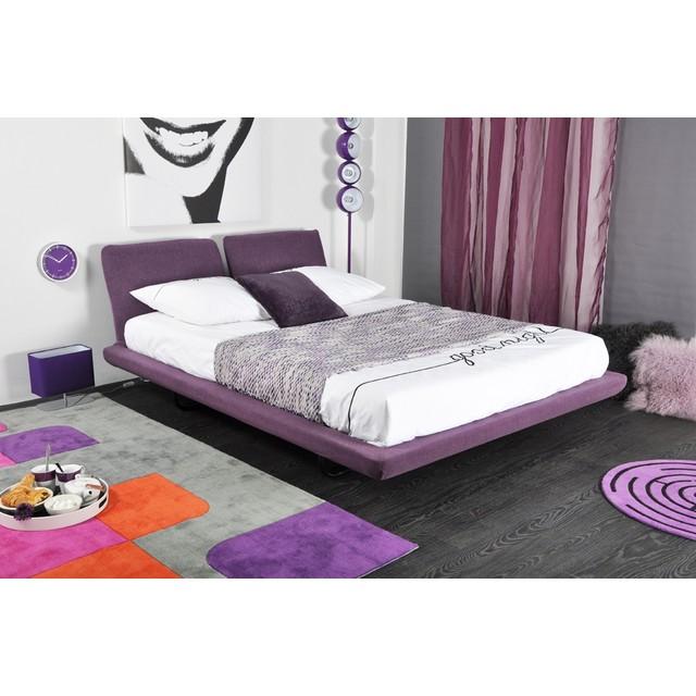 Merveilleux tete de lit violet 9 mobilier maison for Mobilier lit