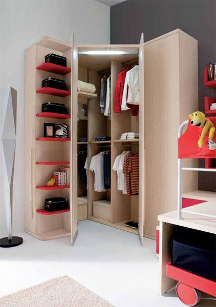 armoire chambre d 39 adolescent. Black Bedroom Furniture Sets. Home Design Ideas