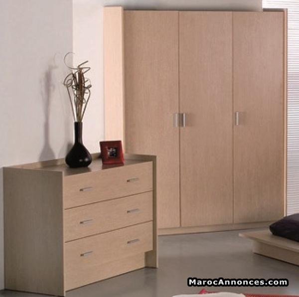 armoire chambre kitea. Black Bedroom Furniture Sets. Home Design Ideas