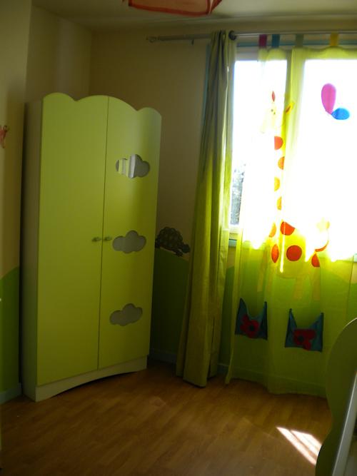 Buffet de cuisine des annees 50 for Chambre design verte