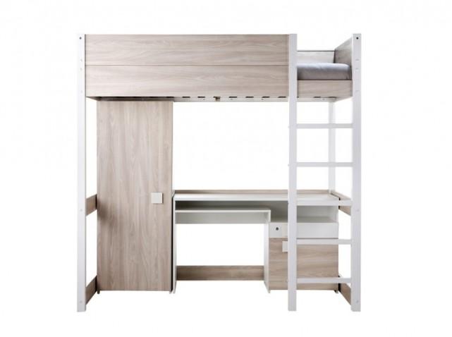 lit mezzanine 2 personnes but finest chambre avec lit mezzanine places chambre avec lit. Black Bedroom Furniture Sets. Home Design Ideas