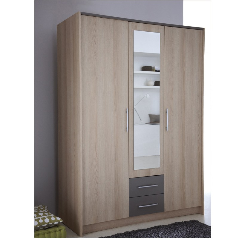 achat armoire pas cher maison design. Black Bedroom Furniture Sets. Home Design Ideas