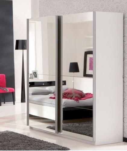 Armoire glace chambre for Miroir pour armoire