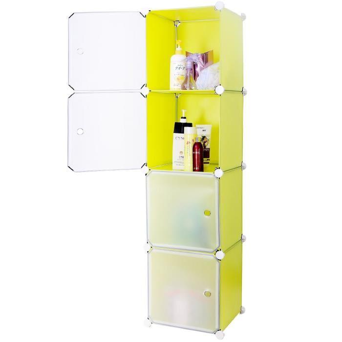 Armoire salle de bain plastique - Organisation salle de bain ...