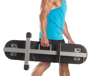 banc de musculation pliable sous le lit