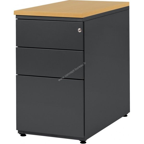 caisson de bureau metallique. Black Bedroom Furniture Sets. Home Design Ideas