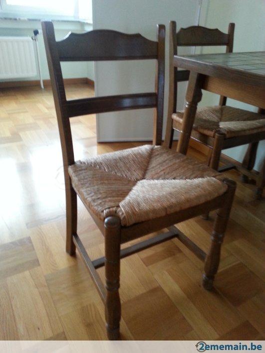 chaise de cuisine en bois a vendre. Black Bedroom Furniture Sets. Home Design Ideas
