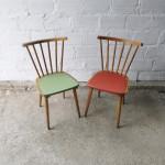 chaise de cuisine retro