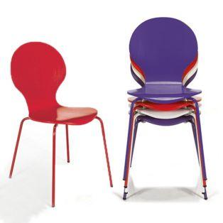 les chaises guevarra lot de 2 chaises rembourres sur les docks du meuble - Chaise De Cuisine Retro