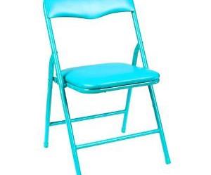 chaise de cuisine turquoise