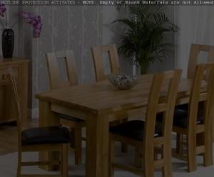 chaise de salle a manger en chene