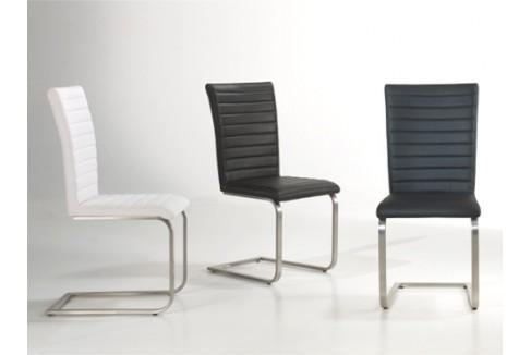 Chaise de salle a manger grise et blanc for Chaise grise de salle a manger