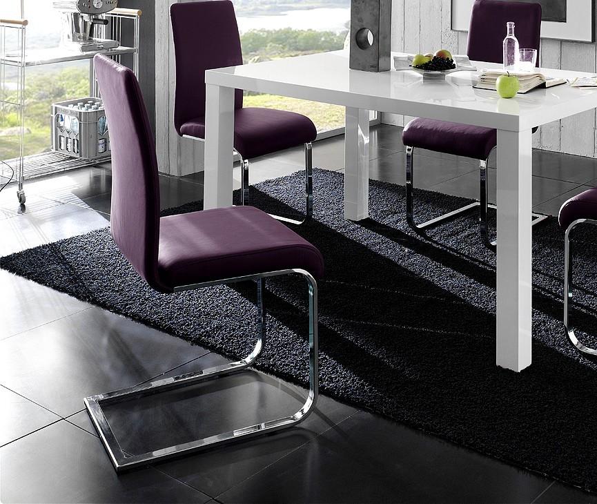 Salle manger violet d co sphair for Deco appartement 38m2