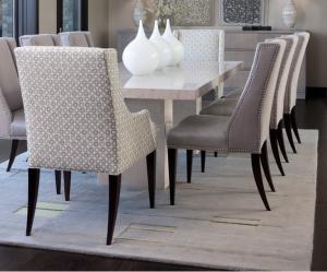 chaises de salle a manger design cuir