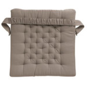 Galette de chaise avec elastique - Galette de chaise avec scratch ...
