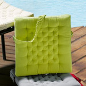 Galette de chaise avec elastique - Galette de chaise comptoir de famille ...