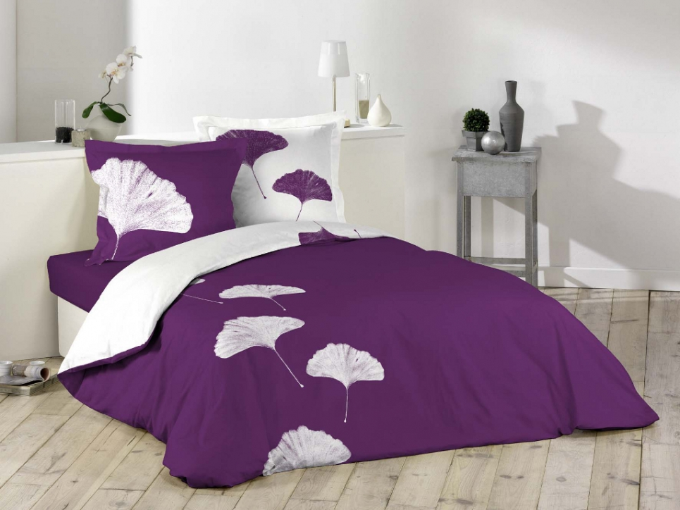 lit 2 personnes violet. Black Bedroom Furniture Sets. Home Design Ideas
