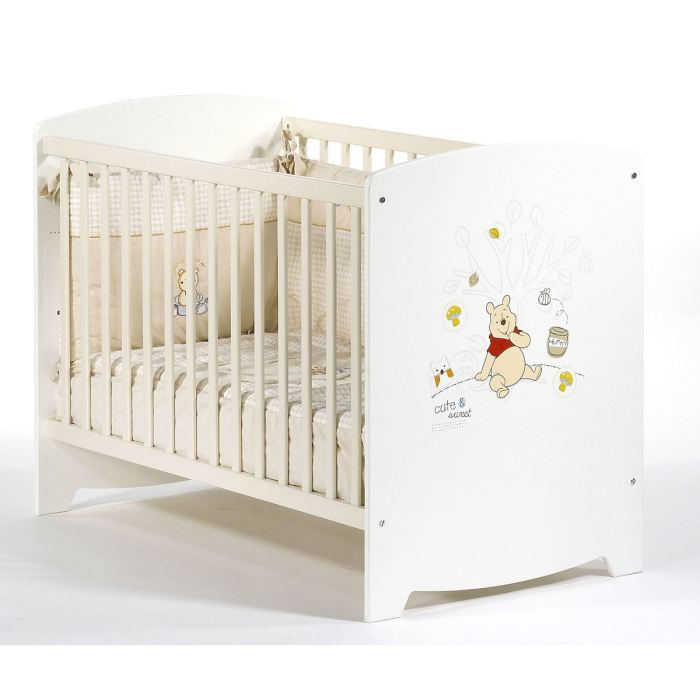 visuel lit bebe winnie l\'ourson carrefour