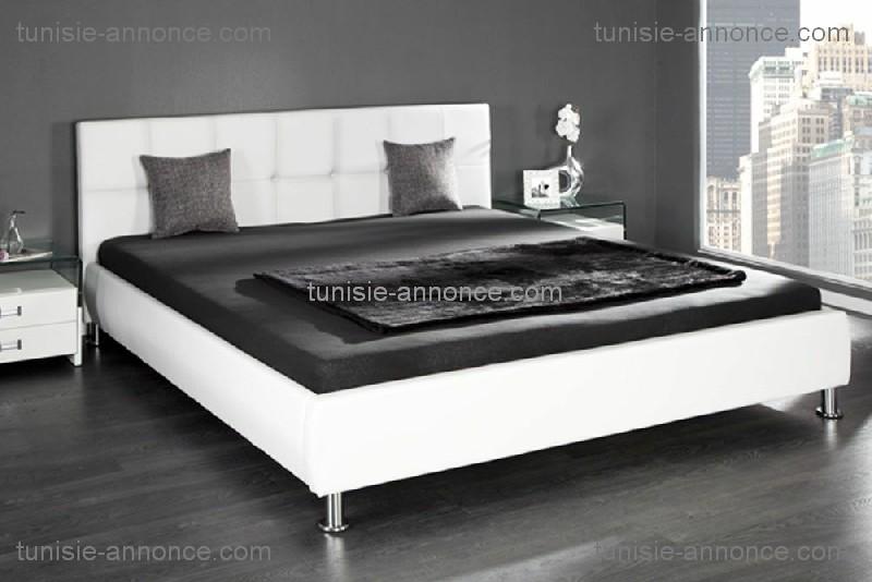 lit deux places tunisie