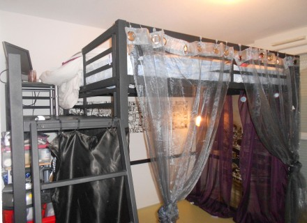 lit mezzanine 2 personnes occasion. Black Bedroom Furniture Sets. Home Design Ideas