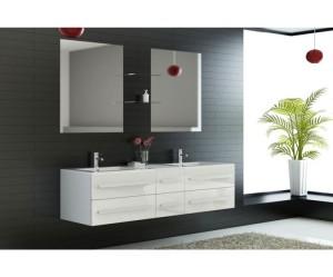 meuble 2 vasque salle de bain pas cher