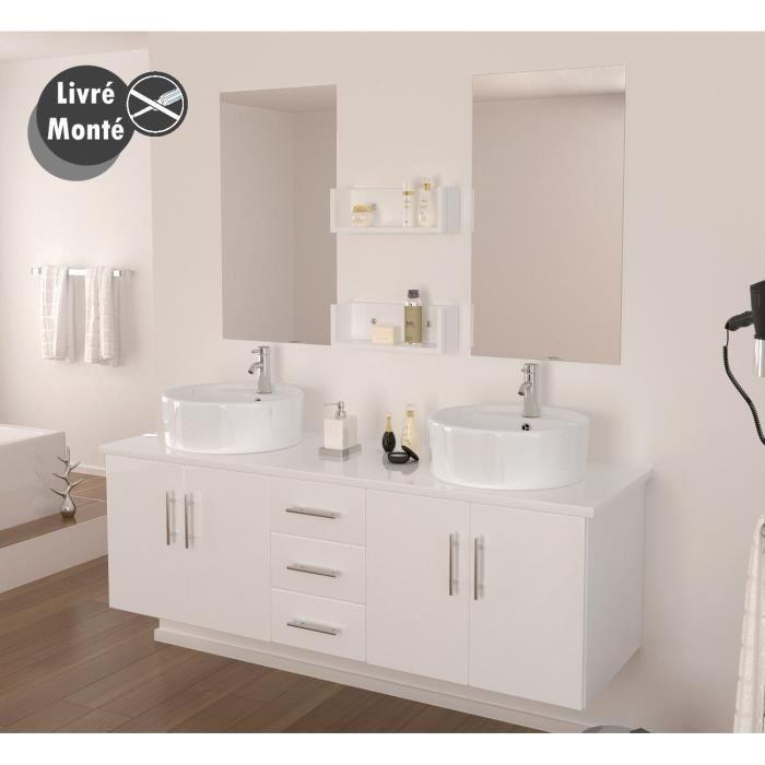 Meuble bas lavabo salle de bain for Meuble coin salle de bain