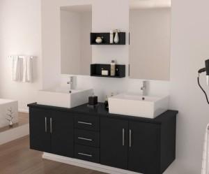 meuble bas lavabo salle de bain