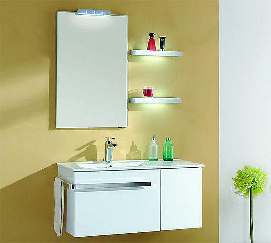 Meuble bas salle de bain 90 cm for Meuble bureau 90 cm