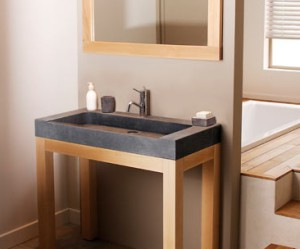 meuble bas salle de bain leroy merlin