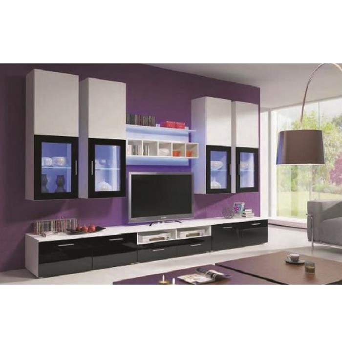 meuble bas tv cdiscount. Black Bedroom Furniture Sets. Home Design Ideas