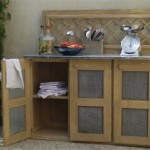 meuble de cuisine zinc