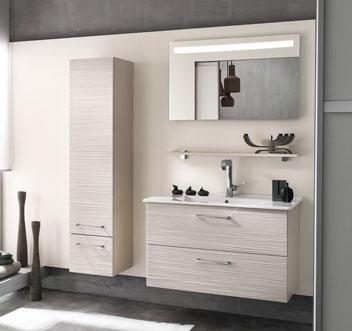 Meuble haut salle de bain 90 cm for Petit meuble haut salle de bain