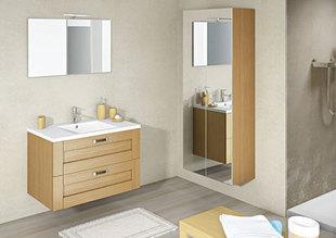 Meuble haut salle de bain 90 cm for Meuble salle de bain gedimat