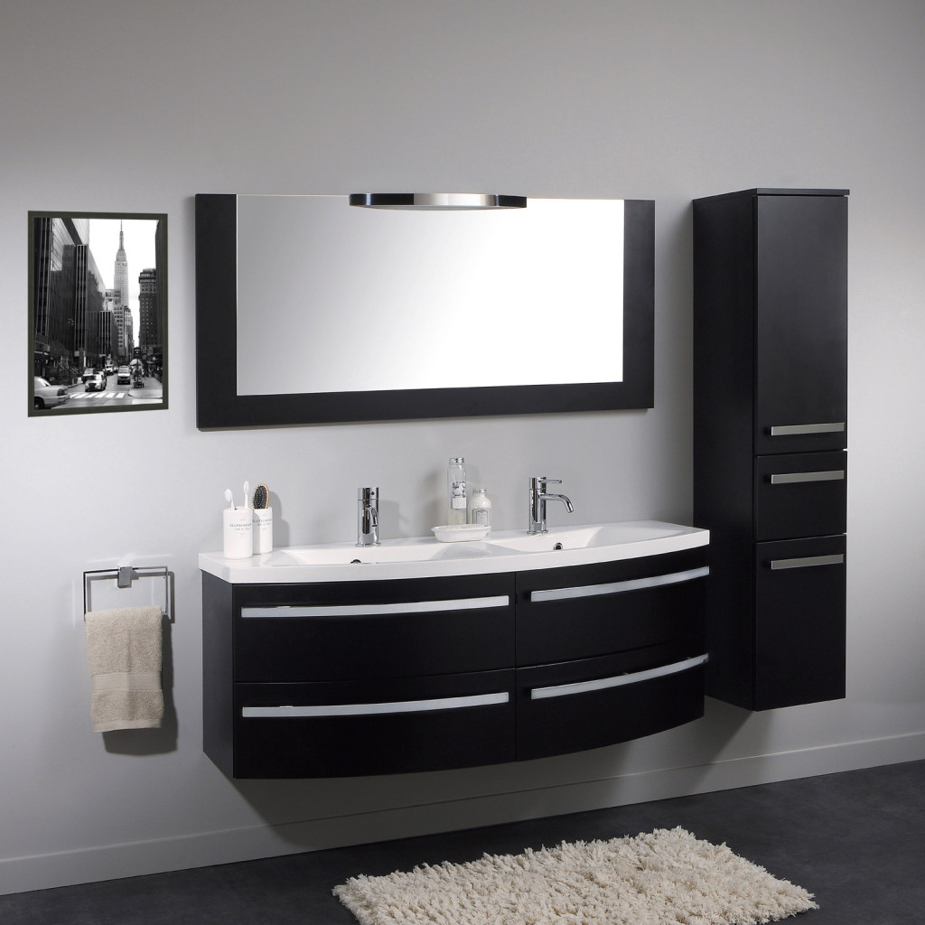 meuble haut salle de bain leroy merlin. Black Bedroom Furniture Sets. Home Design Ideas