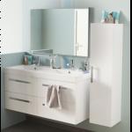 Meuble haut salle de bain leroy merlin - Tabouret salle de bain leroy merlin ...