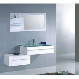 meuble salle de bain en quinconce