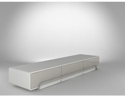 meuble tv haut de gamme blanc. Black Bedroom Furniture Sets. Home Design Ideas