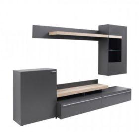 meuble tv haut fly. Black Bedroom Furniture Sets. Home Design Ideas